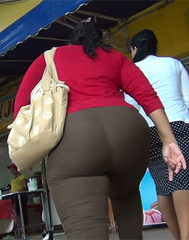 Chubby Ass In Trousers